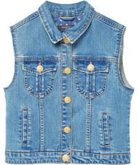 MANGO KIDS Jeansweste In Mittlerer Waschung