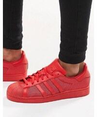 adidas Originals - Superstar B42621 - Baskets - Rouge - Rouge