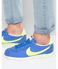 Nike - Cortez Aw - Baskets classiques en nylon - Bleu 844855-470 - Bleu