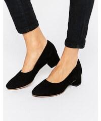 Vagabond - Jamilla - Chaussures à talons carrés en daim - Noir - Noir