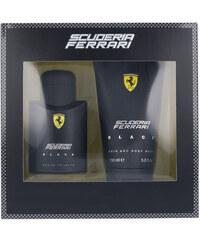 Ferrari Scuderia Ferrari Black EDT dárková sada M - Edt 75ml + 150ml sprchový gel