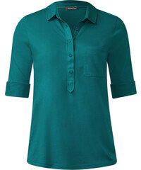 Street One - Polo basique Florence - paradise green