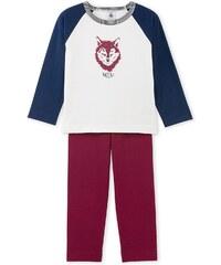 Petit Bateau Ensemble t-shirt et pantalon - tricolore