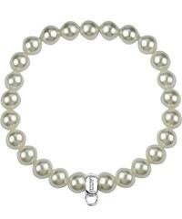 Pierre Lannier Bracelet de perles - vert