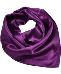 Šátek saténový 63sk001-33 - fialový