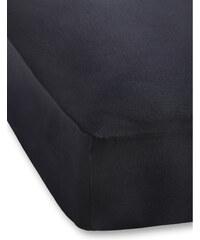 bpc living Drap-housse Jersey Microfibre 40 cm noir maison - bonprix