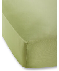 bpc living Drap-housse Jersey Microfibre 40 cm vert maison - bonprix