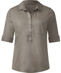 Street One - Polo basique Florence - mocha oak