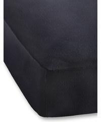 bpc living Spannbettlaken Jersey Microfaser 40 cm in schwarz von bonprix