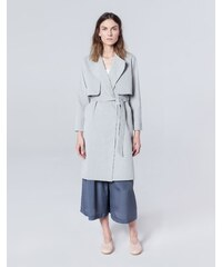 ELEMENTY Simple Wear Trench Gris Clair - Wave