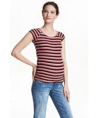 H&M MAMA Žebrované tričko