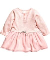 H&M Šaty s šifonovou sukní