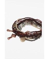 Lot de bracelets femme perles Vert Verre - Femme Taille TU - Bonobo