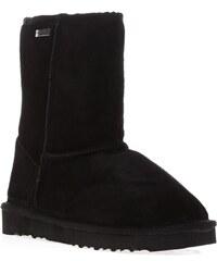Les Tropéziennes par M Belarbi Snow - Boots fourrées - en cuir noir