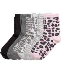 H&M Balení: 7 párů ponožek
