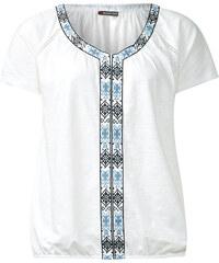 Street One Folkloristik-Shirt Luna - weiß, Damen