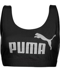 Puma Essential Crop Top dámské Black/White