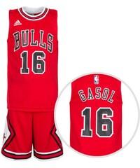 adidas Chicago Bulls Gasol Basketball Trikot Kinder