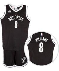 adidas Brooklyn Nets Williams Basketball Trikot Kinder
