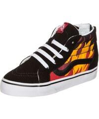 Vans Sk8-Hi Zip Flame Sneaker Kinder