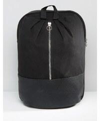 ASOS - Sac à dos avec zip métallique sur le devant - Blanc