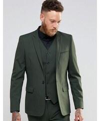 ASOS - Veste de costume cintrée - Kaki - Vert