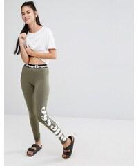 Ellesse - Legging avec logo sur le côté - Vert