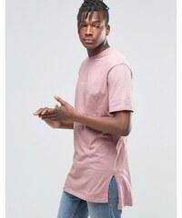 Hand Of God - T-shirt à délavage huilé - Rose
