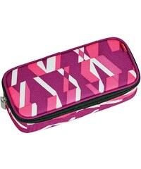 4YOU Mäppchen mit Geodreieck®, Chequer Pink, »Pencil Case«