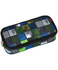 4YOU Mäppchen mit Geodreieck®, Kiwi Squares, »Pencil Case«