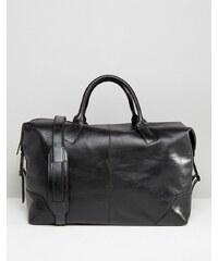 Royal RepubliQ - Reisetasche aus hochwertigem Leder in Schwarz - Schwarz