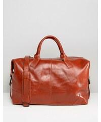 Royal RepubliQ - Reisetasche aus hochwertigem Leder in Braun - Braun