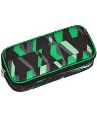 4YOU Mäppchen mit Geodreieck®, Chequer Green, »Pencil Case«
