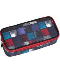 4YOU Mäppchen mit Geodreieck®, Square Blue/Red, »Pencil Case«