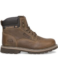 boots Dockers marron