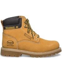 Boots cranté Dockers cuir camel