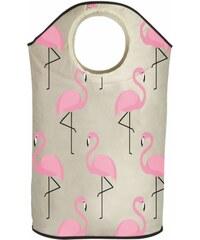 Koš na prádlo Amazing Flamingos