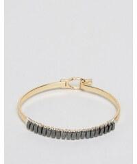 ASOS - Bracelet manchette en métaux variés - Multi