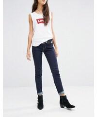 Levis - 711 - Jean skinny taille mi-haute - Bleu