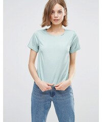 Poppy Lux - Ren - T-shirt à pois dorés - Vert