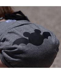 Lamama Kalhotky na plenu Batman 6-12 měsíců (74/80 cm) - tmavě šedé