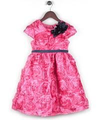 Joe and Ella Fashion Dívčí šaty Portia - růžové