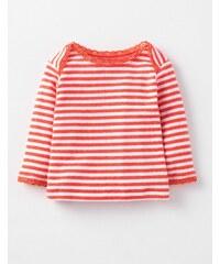 Superweiches T-Shirt mit Zierborte Rotgold Baby Boden