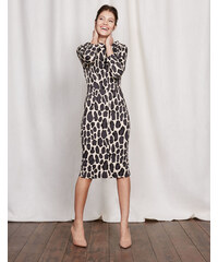 Marisa Kleid Lepardenmuster Damen Boden