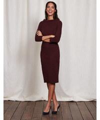 Marisa Kleid Burgunderrot Damen Boden