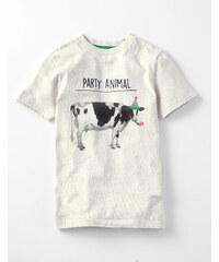 Party Animal T-Shirt Beige Jungen Boden