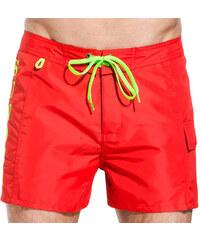 SUNDEK mid-lenght swim shorts with writing