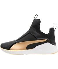 Puma FIERCE FIF Trainings / Fitnessschuh black/gold