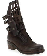 Boots Femme AirStep - AS98 en Cuir Marron
