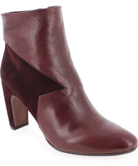 Boots Femme Chie Mihara en Cuir Rouge